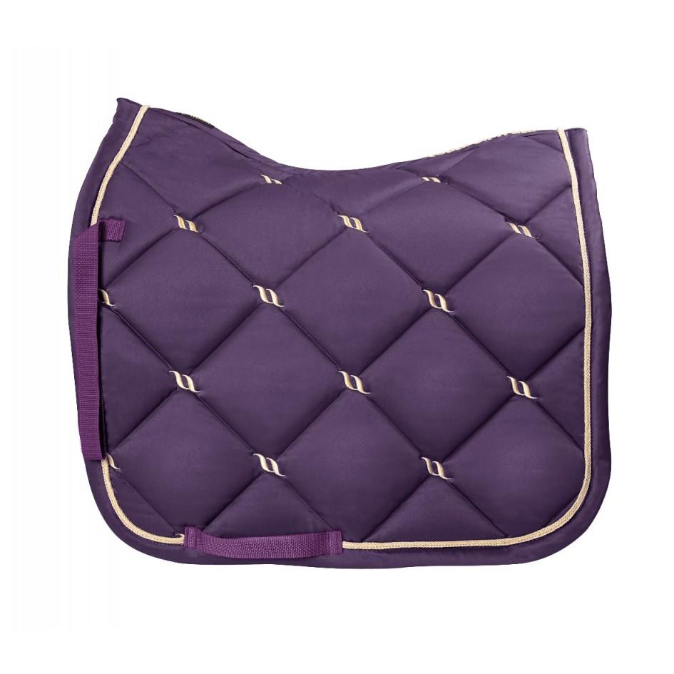 2342 bot nights collection purple saddle pad dressage 3