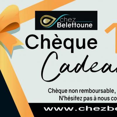 CHEQUE CADEAUX 120 €