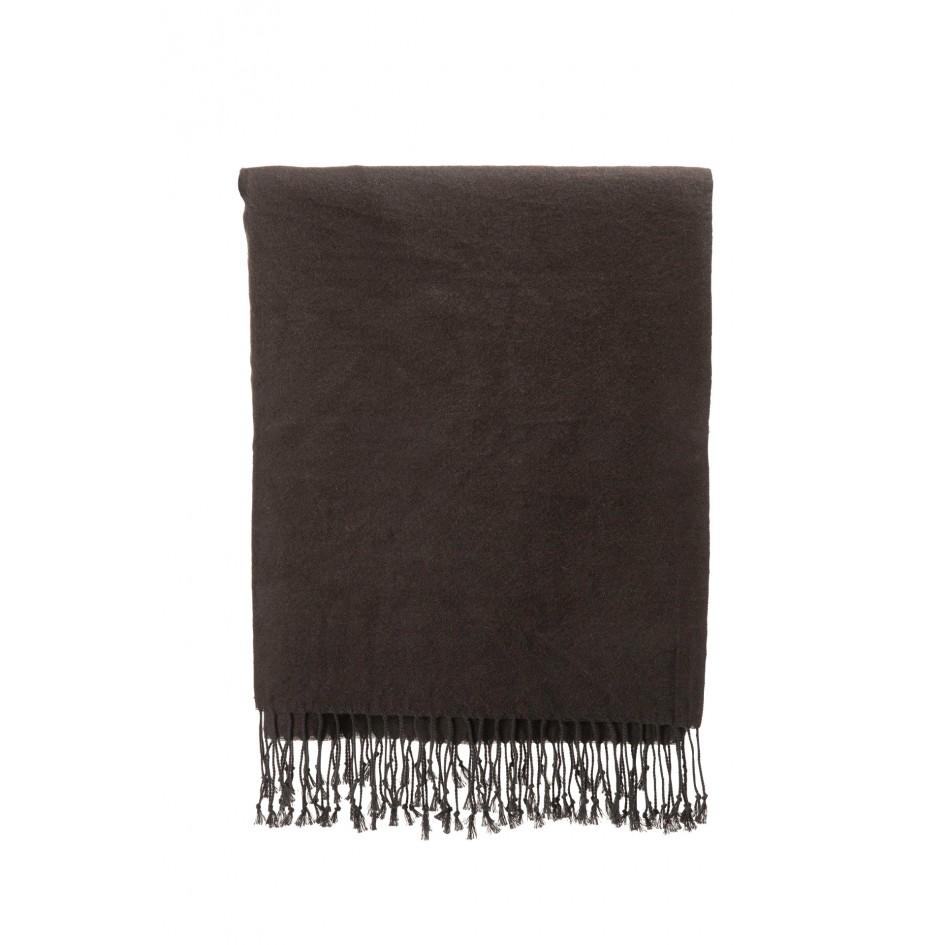 1841 wollen scarf toby black 6