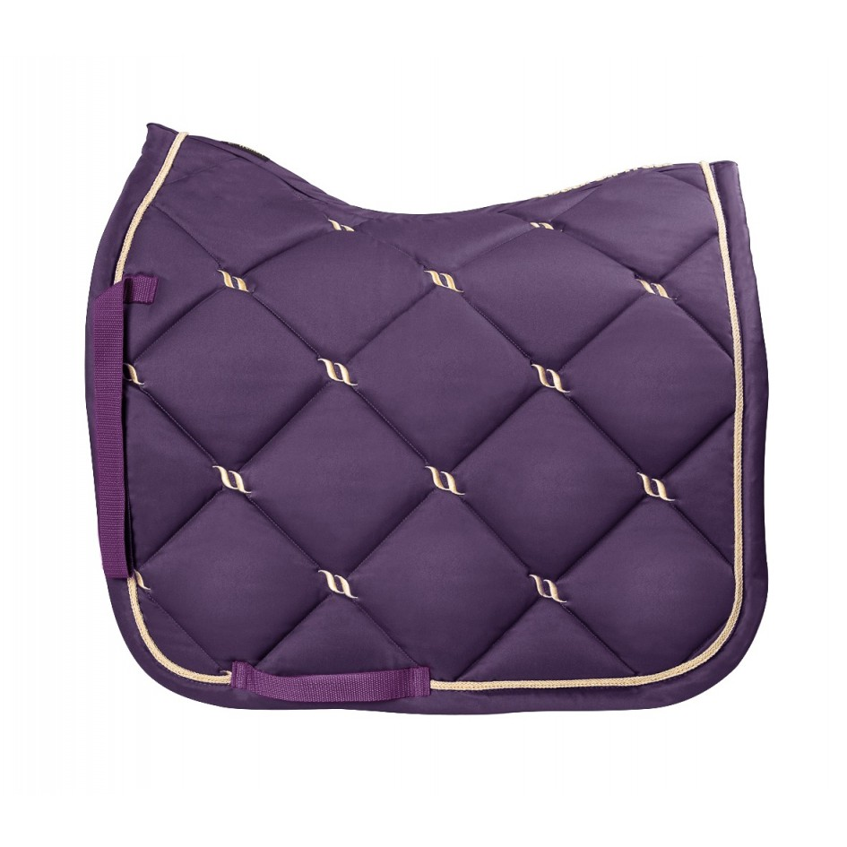 2342 bot nights collection purple saddle pad dressage 3
