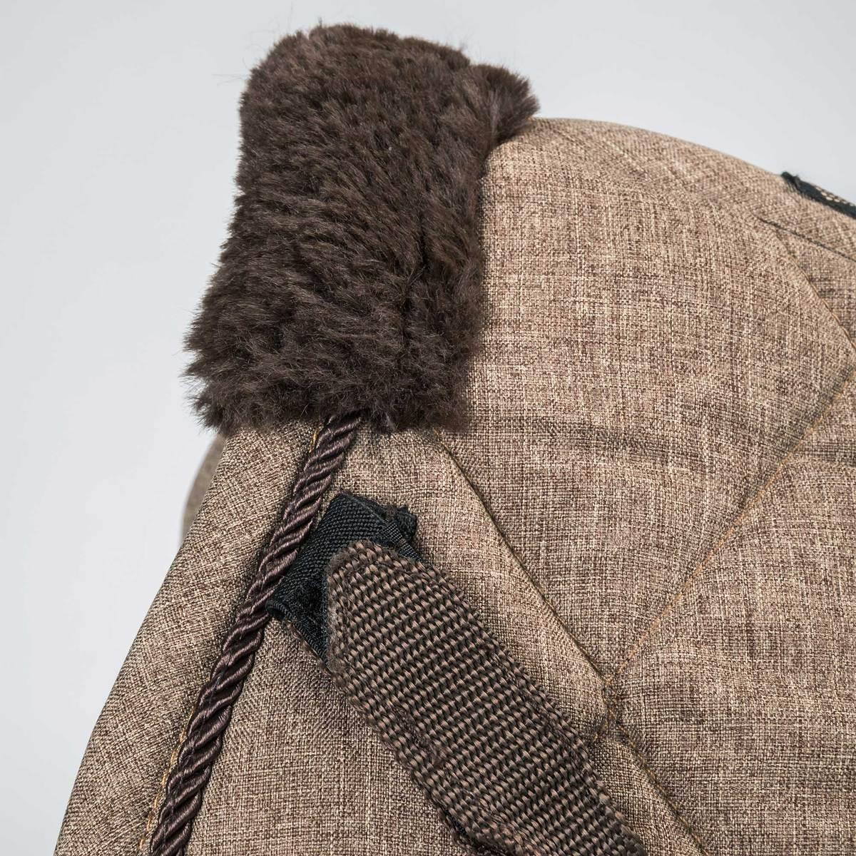 2353 saddle pad jumping haze brown web detail 01 1200x