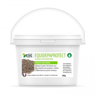 Equidepaprotect – Parasites intestinaux cheval – Complément enrichi à base de plantes