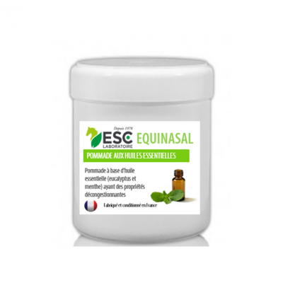 Equinasal – Respiration cheval – Pommade naseaux
