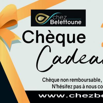 CHEQUE CADEAUX 20 €