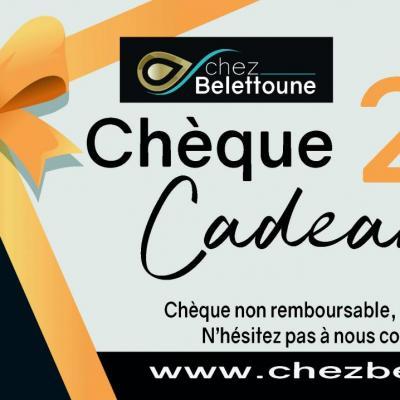 CHEQUE CADEAUX 200 €
