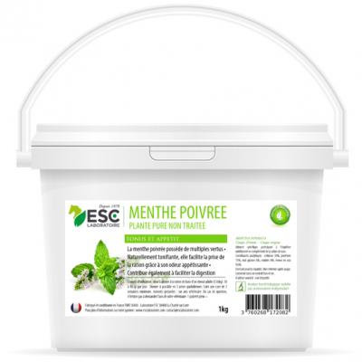 Menthe Poivrée – Estomac sensible cheval – Plante pure