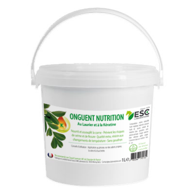 Onguent nutrition keratine