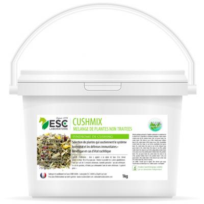 Cushmix – Système endocrinien cheval – Mélange de plantes