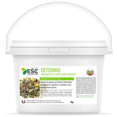 Detoxmix – Drainage et détox cheval – Mélange de plantes