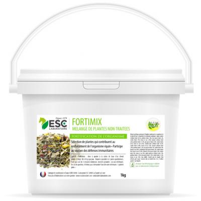 Fortimix – Défenses immunitaires cheval – Mélange de plantes