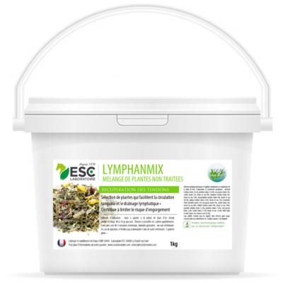 Lymphanmix – Engorgement des tendons et drainage cheval – Mélange de plantes