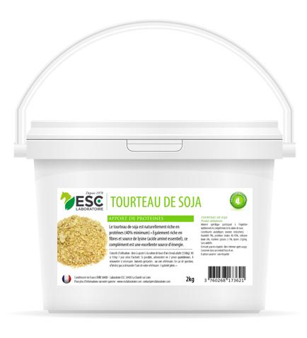 Tourrteau de soja