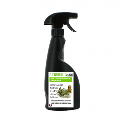 Fly neutral spray – Lotion insectes cheval – À base d'huiles essentielles